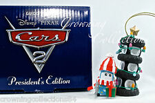 Grolier Guido President's Edition Ornament Disney Pixar Cars 2 Scholastic Tire