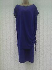 Size 30 Blue Two Part Dress Set CURVE @ Marks & Spencer Wedding / Cruise