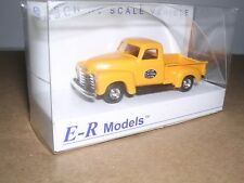"""Busch/E-R Models #92101  N.Y.C.1950 Chevy Pick-up Truck """"Yellow""""  H.O.Scale 1/87"""