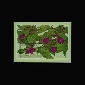 Antigua, Sc #957, MNH, 1986, S/S, Flowers, Flora, AR5RHI-C