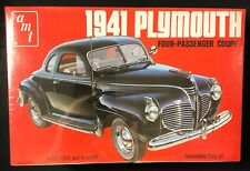AMT 1941 PLYMOUTH FOUR-PASSENGER COUPE MODEL T148 (SEALED-1974)