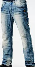 G-Star Attacc Straight Light Wash Jeans Men's UK Size 30W 34L *REF27-6*