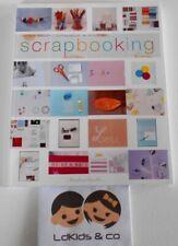 """LIVRE SCRAPBOOKING Sophie GLASSER (""""Scrapbooker"""" les photos) MARABOUT d'ficelle"""