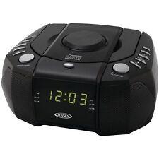 Jensen Jcr-310 Dual Alarm Clock Am/fm Stereo Radio With Top Loading Cd (jcr310)