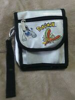 Vintage Pokemon Silver Nintendo GameBoy Carry Bag Case Lugia and Ho-Oh