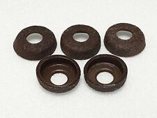 Coleman Lantern & Stove Pump Cup Real Leather Washer Set of 5 From Japan