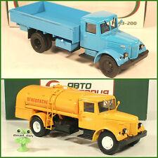 1:43 MAZ 200 Pritsche & TZ Airport Tankwagen russian truck LKW UdSSR USSR DDR