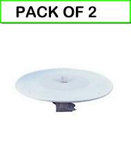 (2-PACK) 55-500A 8'' Ceiling Speaker w/Volume Control -70v Transformer & Grille