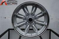 15x8 Rota RB 4x114.3 +4 Royal Silver Wheels New Set