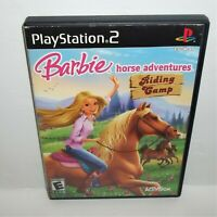 Barbie Horse Adventures: Riding Camp (Sony PlayStation 2, 2008) No Manual Tested