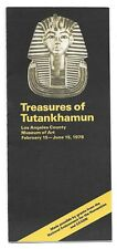 TREASURES OF TUTANKHAMUN 1978 Los Angeles Museum of Art exhibition