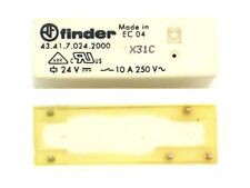 1x Finder Relay 43.41.7.024.2000, 24V 250V 10A,1x Switch (Print Mount) 1R9