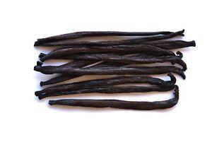 10 Extract Vanilla Beans Whole Pods Grade B 4.5~6 inches | Native Vanilla