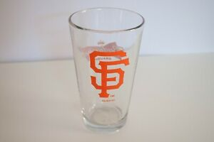 San Francisco Giants Pac Bell Park Merch Budweiser Pint Glass 16oz 2012