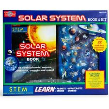 Solar System Book & Kit - STEM Educational Book AGES 8+ NEW