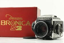 [MINT+++ IN BOX] Zenza Bronica S2 Medium Format Nikkor-P 75mm F/2.8 Lens Japan