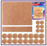 30 Self Adhesive Felt Pads Furniture Wooden Floor Scratch Protector Mixed Sizes