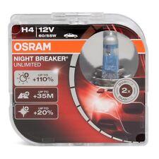 2x OSRAM Halogenlampe H4 NIGHT BREAKER UNLIMITED 12V 60 / 55W 64193NBU-HCB