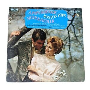 Arthur Fiedler and the Boston Pops A Pops Serenade Vinyl Record 12 inch 1969  LP