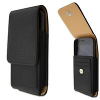 caseroxx Outdoor Case for Kyocera DuraForce Pro 2 in black made of real leather