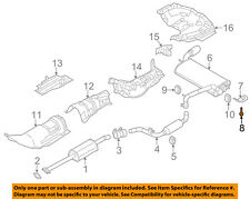 FORD OEM 12-18 Focus 2.0L-L4 Exhaust-Rear Muffler Screw W708951S442