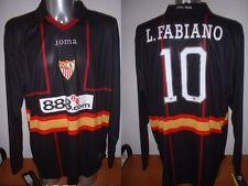 Sevilla LUIS FABIANO Joma Shirt Jersey Soccer Adult XL XXL BNWT Brazil Seville 3