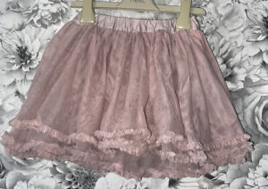 Girls Age 3-4 Years - Pink Party Skirt - From The Little White Company