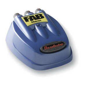 Danelectro D-5 Fab Chorus Guitar Effects Pedal