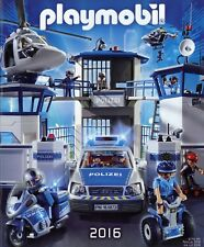 Playmobil catálogo 2016 juguetes folleto brochure Toys Catalogue Jouets Catalog