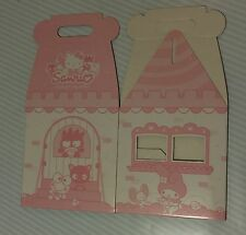Sanrio Hello Kitty Cardboard Gift Box Plush House Carrying Case