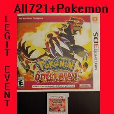 Pokemon: Omega Ruby Loaded With All 721 + 120+  Legit Event Pokemon - Unlocked