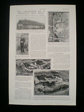 DISCOVERY OF MEDIEVAL TILE KILN CHERTSEY ABBEY L PORTER ARCHAEOLOGY ARTICLE 1923