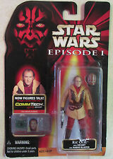 Star Wars - Episode 1 - Action Figure - Ric Olie - 1998 W/ CommTech Chip