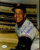 Juan Marichal Signed Jsa Cert Sticker 8x10 Photo Authentic Autograph