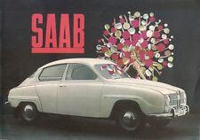 Saab 96 2-Stroke Saloon 1964-65 UK Market Sales Brochure