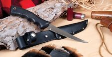 Rada Cutlery R210 Sportsman Knife With Leather Scabbard Filet Knife Made In Usa