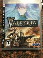 Valkyria Chronicles (Sony PlayStation 3, 2008) Complete