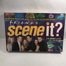 FRIENDS SCENE IT - DVD Trivia Party Board Game - Mattel - 100% complete