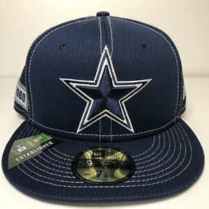 Dallas Cowboys New Era Fitted Hat 7 1/8 100 Year NFL Anniversary New