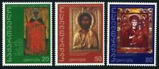 Georgia 236-238, MNH. Christianity, 2000th Ann. 2000. Icons.
