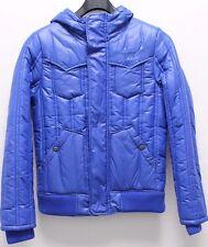 G-STAR RAW Designer Damen Jacke mit Kapuze Herbst/Winter blau Gr. M NEU!