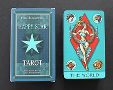 Happy Star Tarot Cards Deck Illustrated Minors Russia Rider Waite Clone