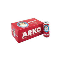 Arko Shaving Soap Stick Box Barbers Favourite 12 Soap Sticks Each 75gr.