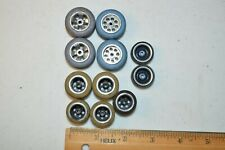 1960's vintage 1/32nd slot car wheels and tires