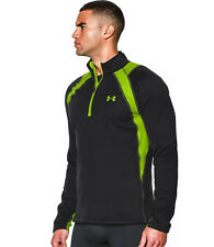 MENS UNDER ARMOUR BASE EXTREME SCENT CONTROL CAMO HUNTING 1/4 ZIP TOP SHIRT M