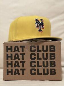Hat Club Exclusive New Era 7 3/8 Coffee Pack New York Mets Cafe Bustelo
