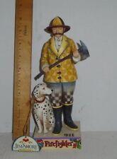 Jim Shore Heartwood Creek Fireman Firefighter w/Dalmation Figurine ~ 4007231