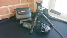 Panasonic HD camcorder HDC SD-80 with silk Mini pro tripod and panasonic case