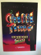 Chilli Time - Pokies - Lightbox Poster - Gaming - Casino - Mancave - Tatts