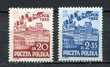 35753) POLAND 1953 MNH** People' Poland 2v. Scott# 582/83
